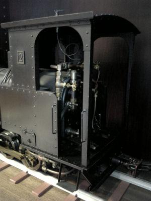 頚城鉄道で走っていたコッペルの模型その4