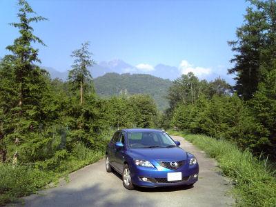 アクセラと7月末の甲斐駒ケ岳