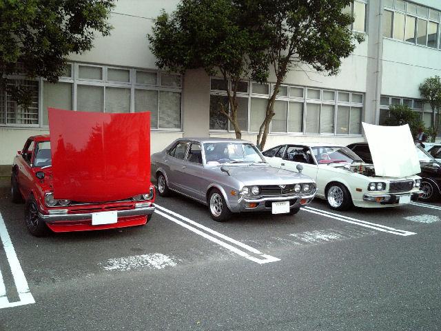 横須賀基地内とルーチェ