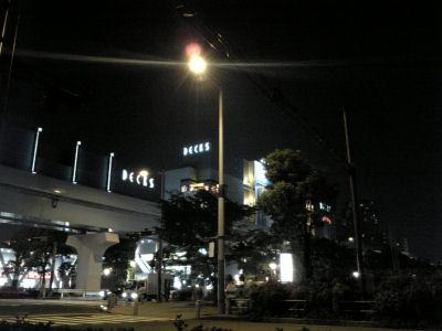 夜のお台場
