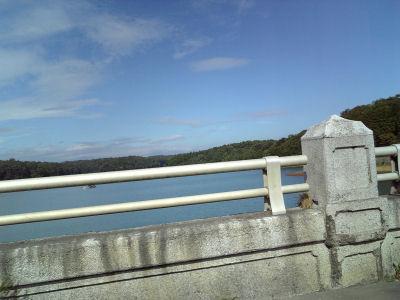 青空の多摩湖