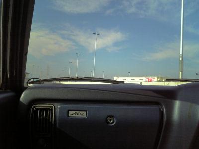 ルーチェで20号バイパスをドライブ
