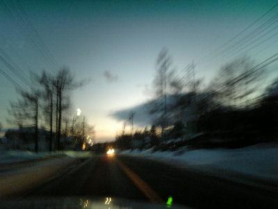 夕方の野辺山