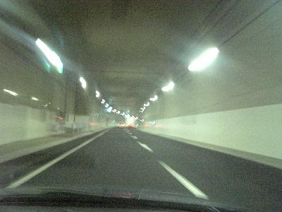 中央環状線のトンネル