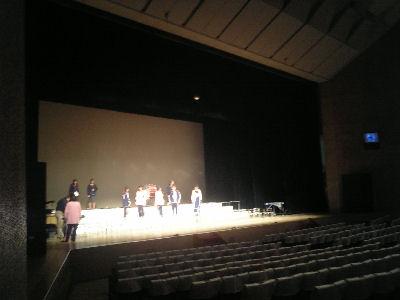 市民会館の舞台