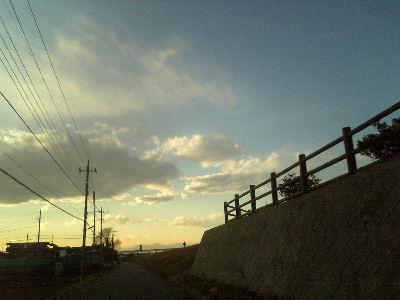 堤防ロード