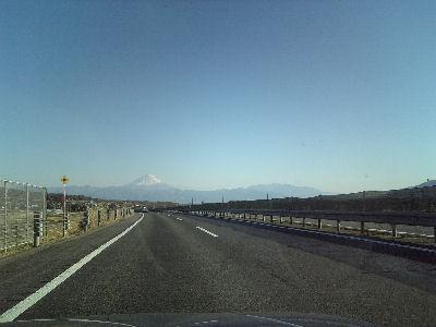 如月の富士山