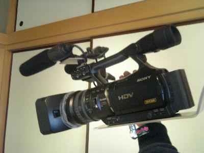 ソニーの業務用ハイビジョンカメラV1J