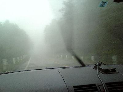 霧のビーナスライン