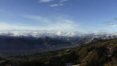綺麗な越後山脈or谷川連峰