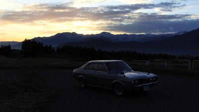 ルーチェと朝焼けの山脈