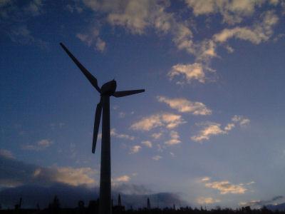 美ヶ原の風力発電