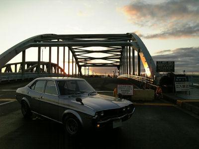 マツダルーチェと瑞穂橋