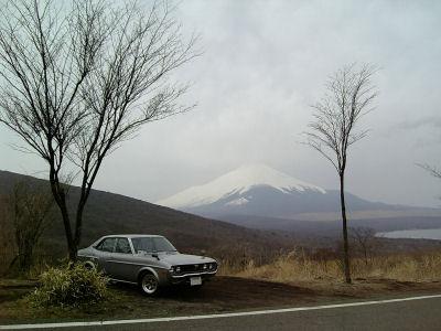 マツダルーチェと富士山
