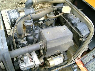 クボタアステのエンジン