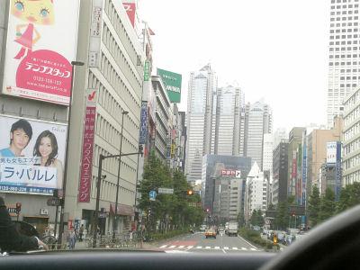 新宿西口からルーチェで眺める新都心