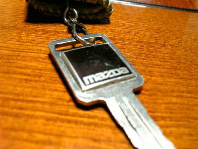 HC型マツダルーチェの鍵