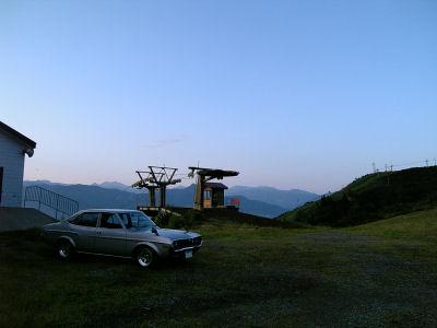 マツダルーチェと夏の上越国際スキー場