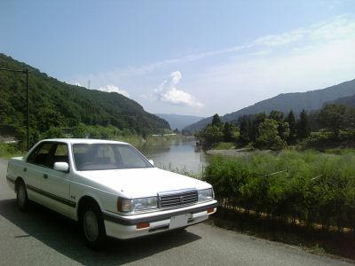 マツダルーチェと千曲川