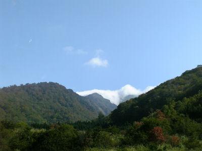谷川岳の少し紅葉?