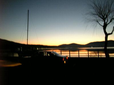 ルーチェと山中湖とヨット
