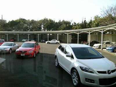 マツダの車両群とRX-8ハイドロジェンRE