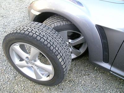 RX-8のタイヤを替える