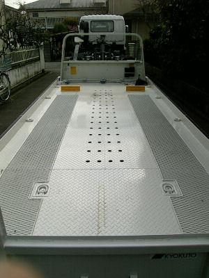 5600mmの荷台
