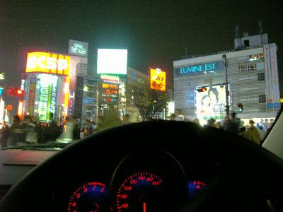 新宿の雑踏