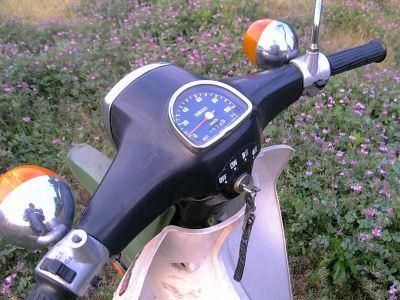 スピードメータの最高指示速度は時速100km