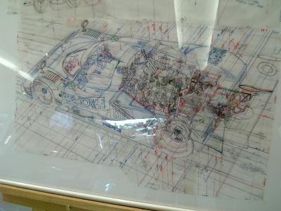 787B手書きの構想図!?
