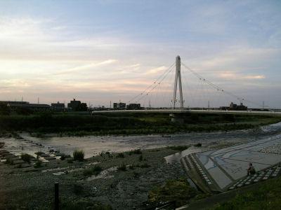 604SHでとったふれあい橋
