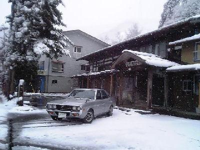 ルーチェと雪の二居・富沢家本陣