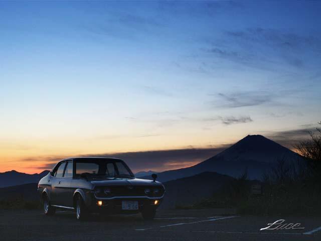 ルーチェと富士山