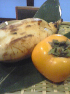 柿レンコン