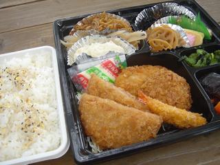 ガッツリお弁当!