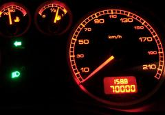 70000kmになりました (^-^)v