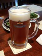 """""""エールろ過前""""バランスのいいビールです。"""