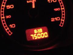 75000km