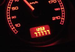 77777! 今月は走るなぁ