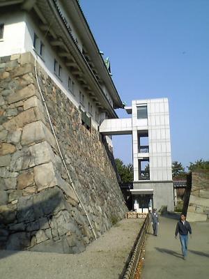 名古屋城裏側