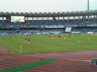 2006.6.7ナビ準々決勝川崎戦①