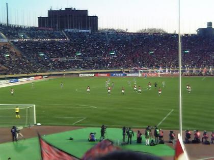 2006.12.29 天皇杯準決勝鹿島戦(国立)