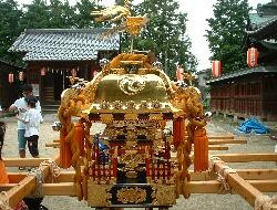 上高野神社 子供御輿1