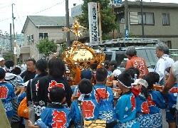 上高野神社 子供御輿2