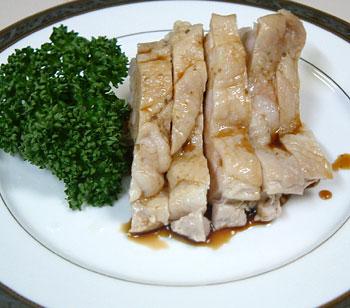 若鶏の冷菜