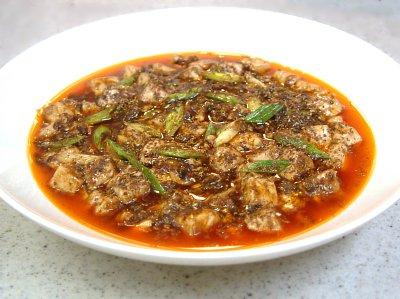麻婆豆腐レシピ