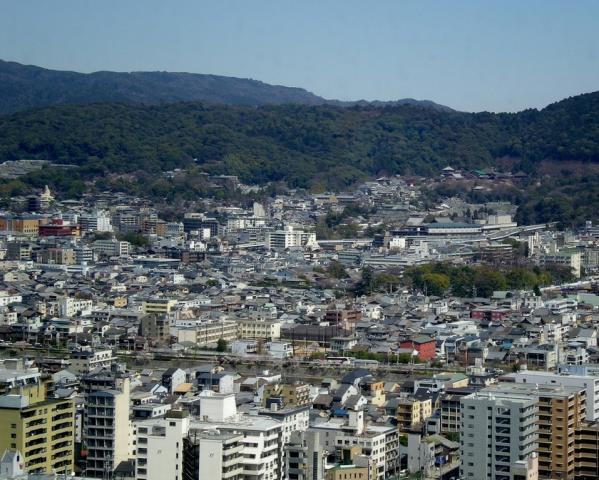 京都タワー 東寺 (1)