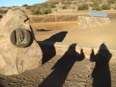 オニヅカさんの記念碑