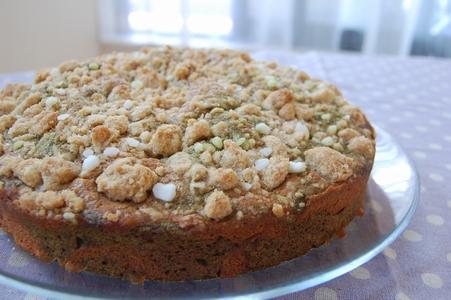 抹茶ときな粉のマーブルケーキ